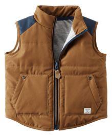 Carter's Colorblock Puffer Vest