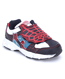 Spider Man Casual Shoes - Black Red
