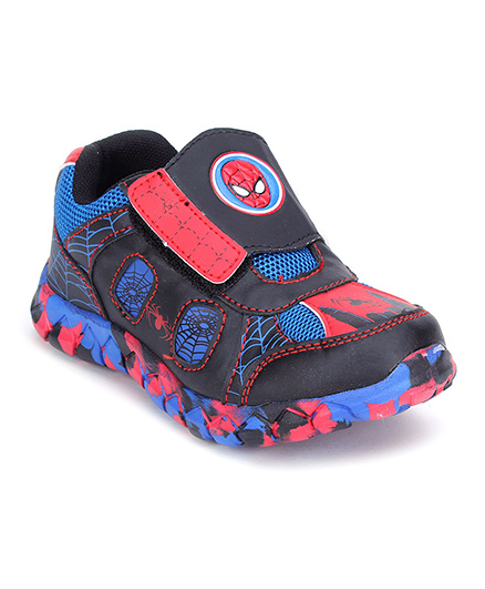 Spider Man Casual Shoes - Blue Black