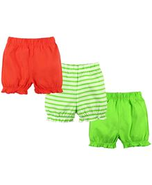 Baby Pure Shorts Pack of 3 - Multi Colour