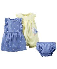 Carter's 2-Piece Dress & Romper Set
