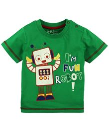 Baby Pure Infant Boys T-Shirt With Print - Green