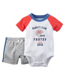 Carter's 2-Piece Bodysuit & Short Set