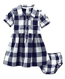 Carter's Buffalo Check Shirt Dress