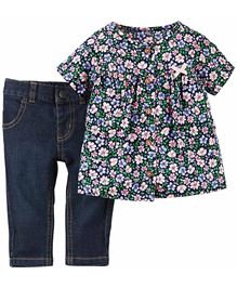 Carter's 2-Piece Top & Jeans Set