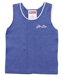 Fisher Price Apparel Sleeveless Round Neck Sweater - Royal Blue
