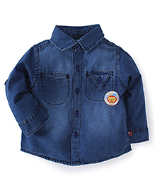 Fisher Price Apparel Infant Full Sleeve Shirt - Dark Blue