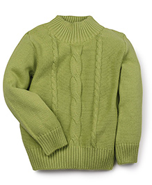 Fisher Price Apparel Full Sleeves Sweater - Green