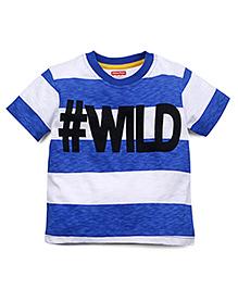 Babyoye Full Sleeves T-Shirt - Blue White