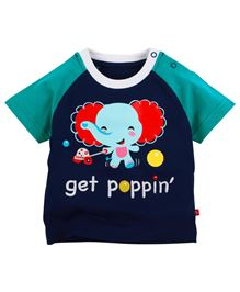 Fisher Price Apparel Get Poppin Half Sleeve T-Shirt - Navy Blue