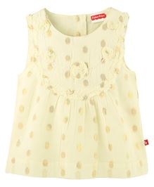 Fisher Price Apparel Sleeveless Frock - Off White