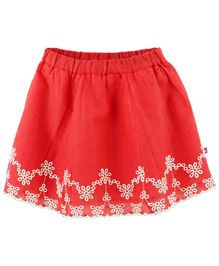 Fisher Price Apparel Embroidery Skirt - Red