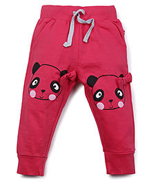 Fisher Price Full Length Track Pants With Drawstring - Pink