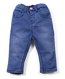 Ladybird Slim Fit Jeans Heart Detail On Back Pocket - Blue
