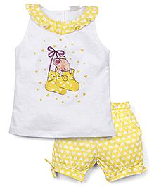 FS Mini Klub Shorts - Yellow