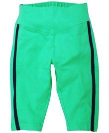 Babyoye 3/4 Length Track Pant - Green