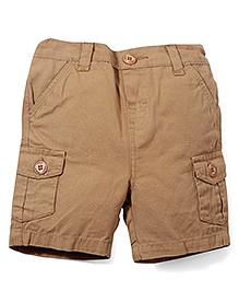 M&M Shorts With Pockets - Khaki