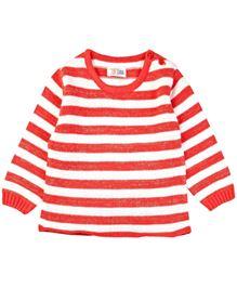 M&M Sweater Stripes Pattern - Orange