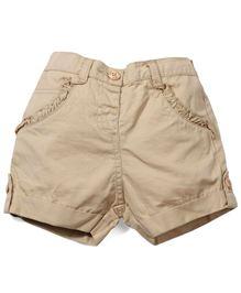 M&M Solid Color Shorts - Beige