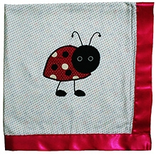Kadambaby - Pink Beetel Receiving Blanket