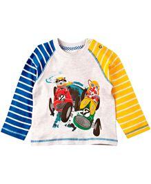 Babyoye Infant T-Shirt With Print - Multi Colour