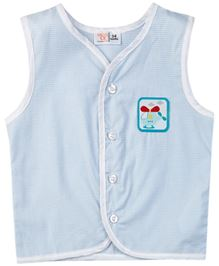 M&M Infant Woven Jhabla - Light Blue