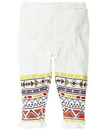 Babyoye Full Length Legging - White