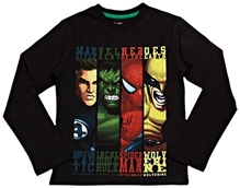 Full Sleeves T-Shirt - Marvel Heroes