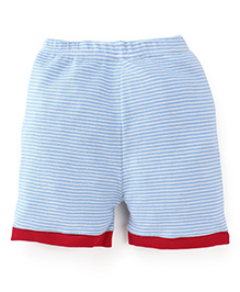 Snuggles Striped Shorts - Pink White