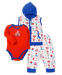 Snuggles Baby Basic Set Pack of 3 - White Blue Red
