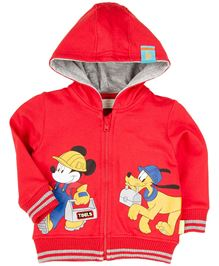 Disney Hooded Sweatshirt  - Red