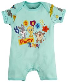 Warner Bros Printed Romper - Light Blue