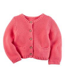 Carter's Purl Knit Cardigan