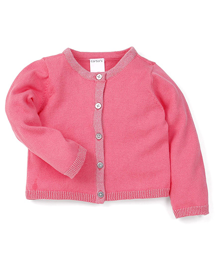Carter's Full Sleeves Sweater - Pink