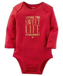 Carter's Sweet Life Collectible Bodysuit