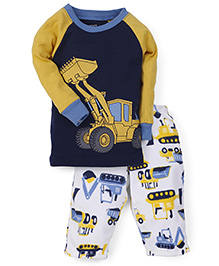 Carter's 2-Piece Neon T-Shirt And Pajamas - Multicolor
