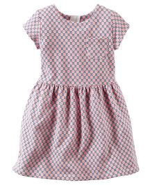 Carter's Geo Print French Terry Dress