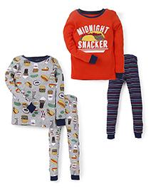 Carter's 4-Piece Snug Fit Cotton PJs