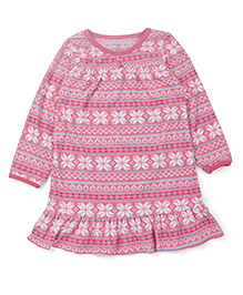 Carter's Fleece Sleep Nighty - Pink