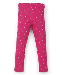 Carter's Leggings Star Print - Pink