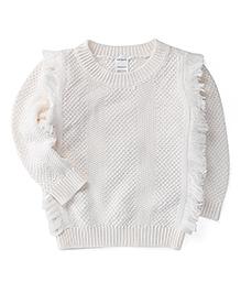 Carter's Fringe Sweater
