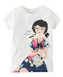 Carter's Chirping Bird Graphic Tee