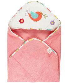 M&M Hooded Towel - Pink