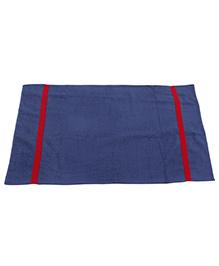 M&M Solid Colour Towel  - Blue