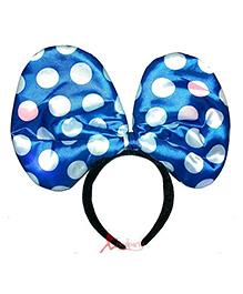 Funcart Minnie Mouse Jumbo Hair Band - Blue