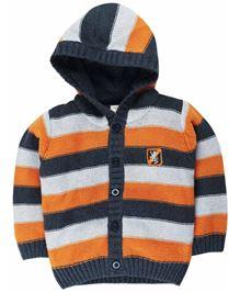 M&M Infant Sweater With Stripes - Multi Colour