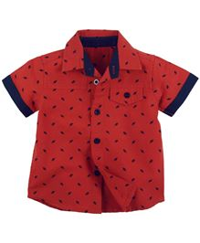 Fisher Price Apparel Half Sleeve Shirt - Red