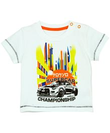 Baby Pure T-Shirt With Artwork - White