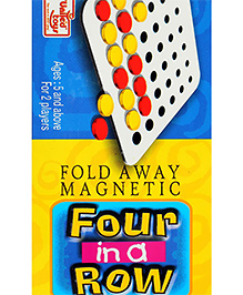 United Toys - Fold Away Magnetic Four In Row