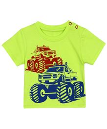 Baby Pure T-Shirt With Artwork - Lime Green